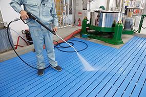 布団・絨毯のクリーニング工程2