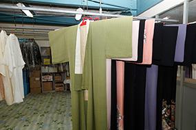 和服のクリーニング工程3