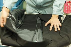 一般衣類のクリーニング工程1