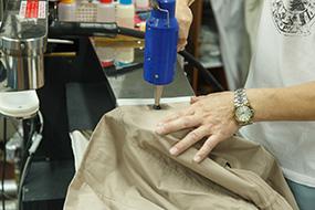 一般衣類のクリーニング工程2