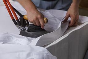 一般衣類のクリーニング工程3