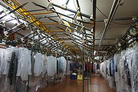 一般衣類のクリーニング工程4
